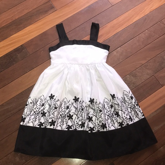 Cherokee Other - Girl's Size 7 Cherokee Black and White Dress